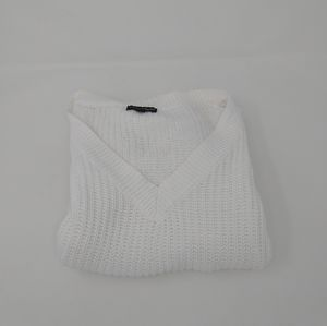 Ambiance Apparel Open Knit Oversized Sweater Wmn S